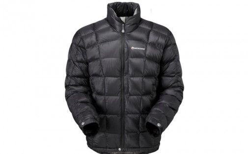 Куртка пуховая Montane ANTI-FREEZE black/graphite lining M