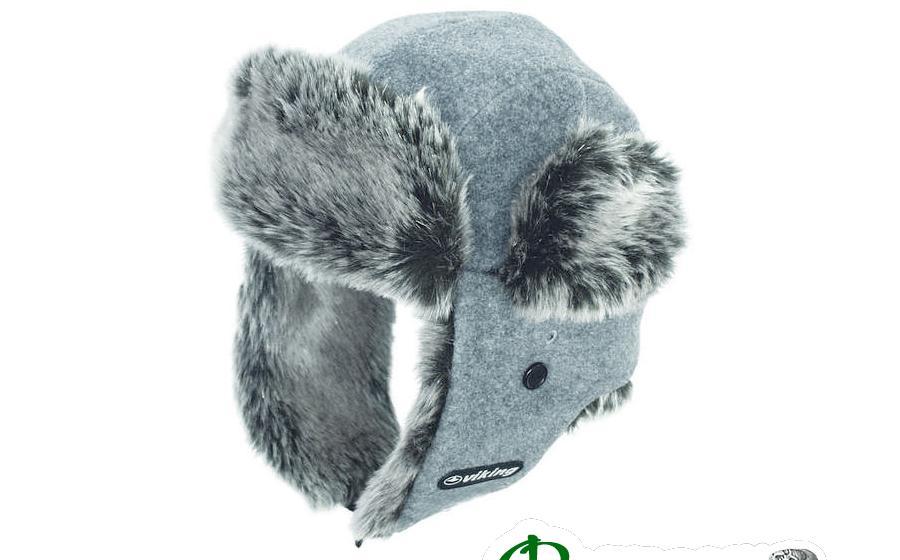 Шапка с ушами зимняя Viking