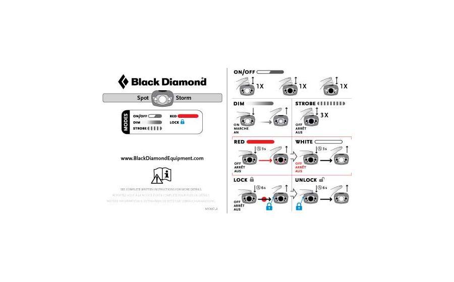Фонарик налобный Black Diamond  SPOT matte black - Акция!
