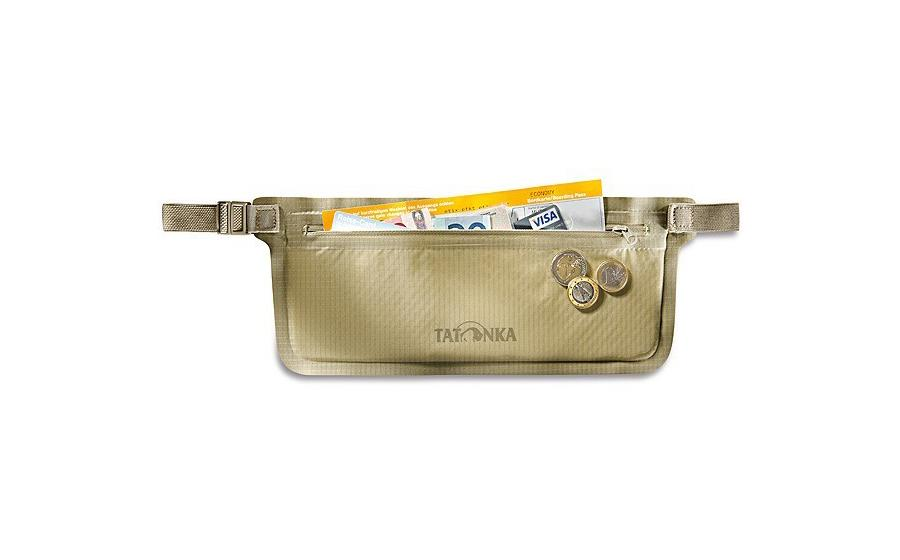 Влагостойкий кошелек Tatonka WP MONEYBELT natural