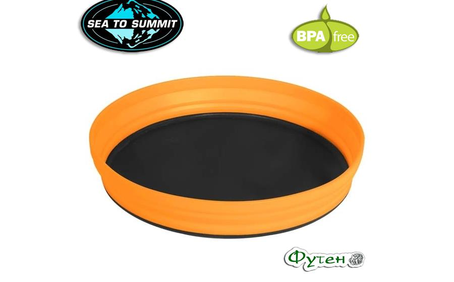 Тарелка складная Sea to Summit X-PLATE  orange 1170мл