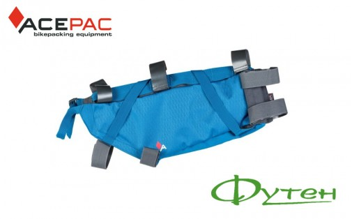 Acepac Roll Frame bag L blue