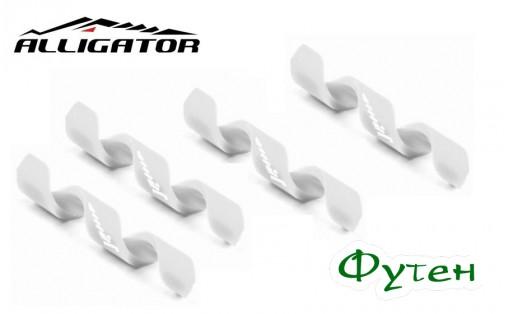 Alligator Spiral 4/5 мм белая
