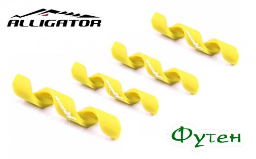 Защита рамы Alligator Spiral желтая