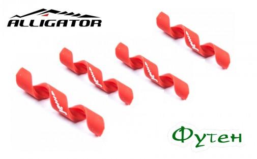 Защита рамы Alligator Spiral 4/5 мм красная
