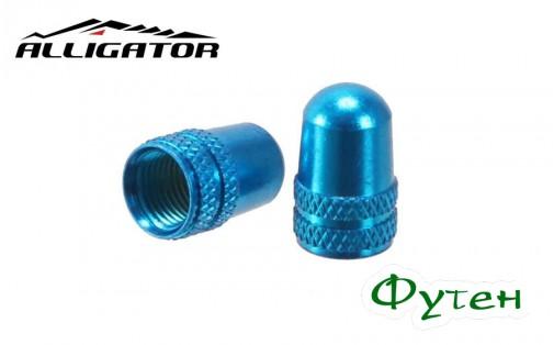 Колпачки Alligator PRESTA VALVE CAP синие