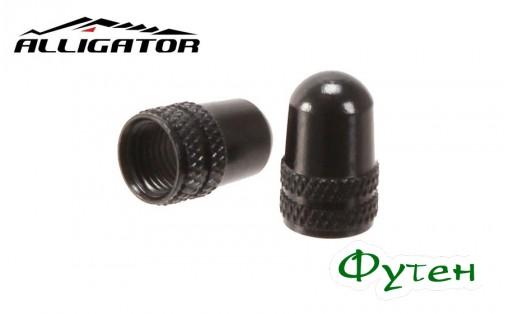 Колпачки Alligator SCHRADER черные