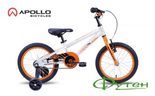 Велосипед Apollo NEO BOYS оранжевый/черный