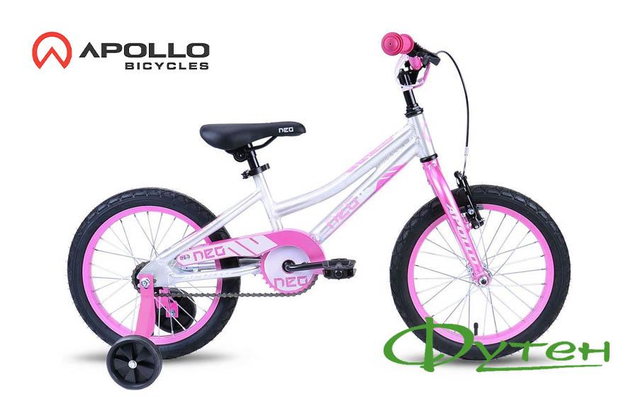 Велосипед Apollo 16 NEO GIRLS розовый/белый