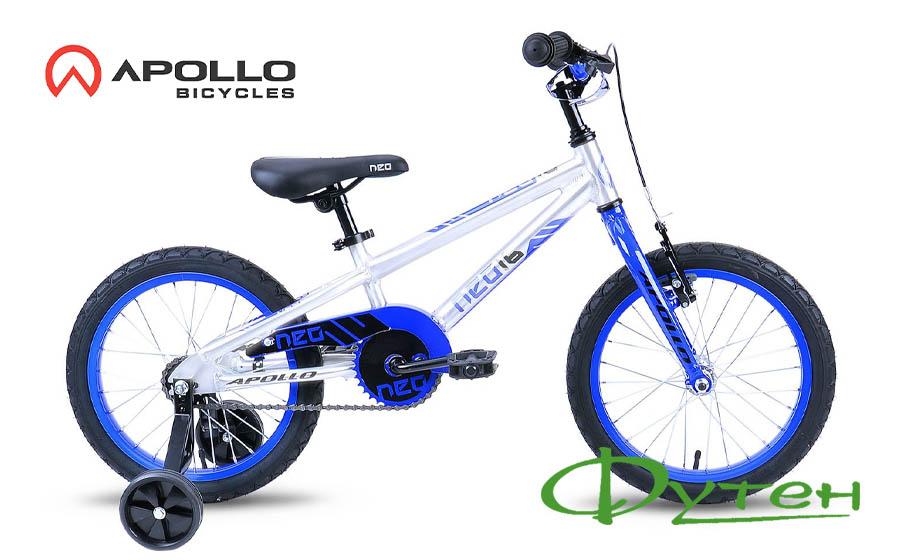 Детский велосипед Apollo NEO BOYS синий/черный