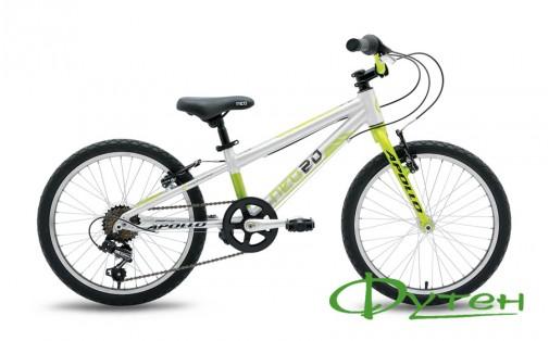 Велосипед детский Apollo20 NEO 6s boysLime/Black