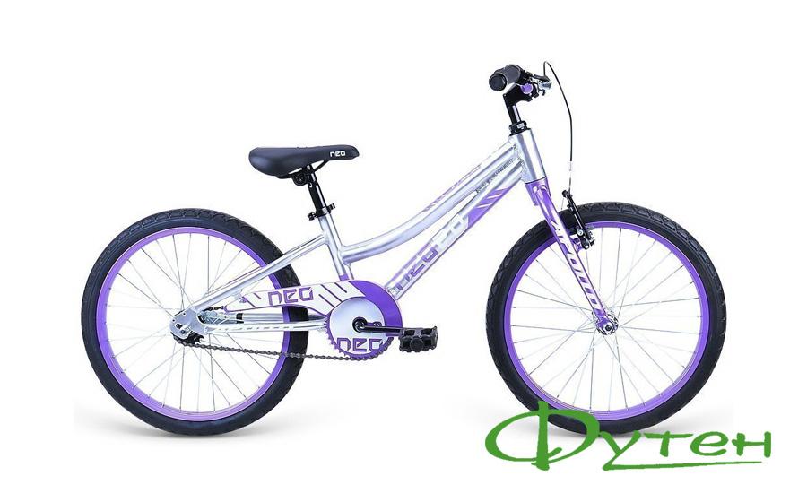 Велосипед дитячий Apollo 20 NEO 6s girls бузковий/білий