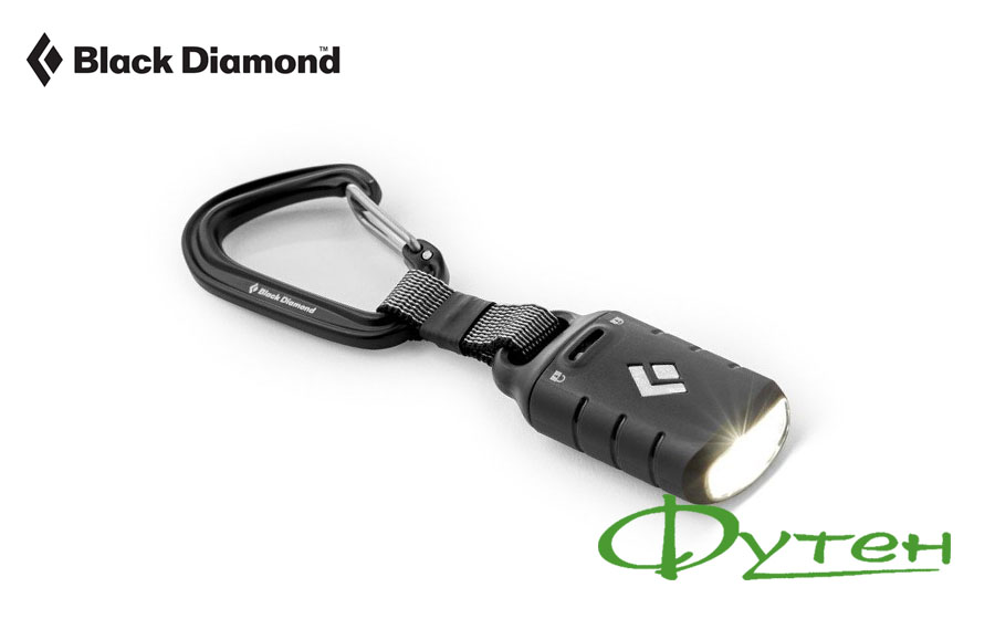 Black Diamond ION KEYCHAIN LIGHT black