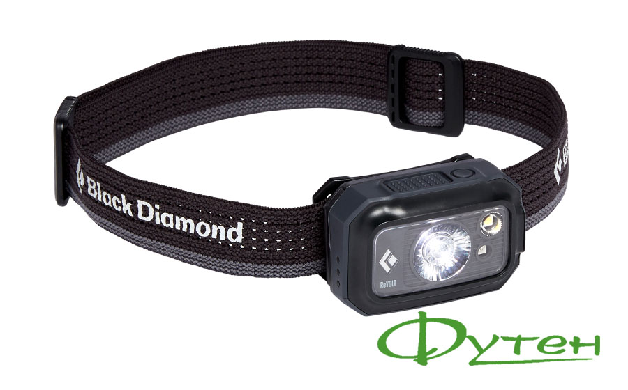 Фонарь Black Diamond REVOLT 350 graphite