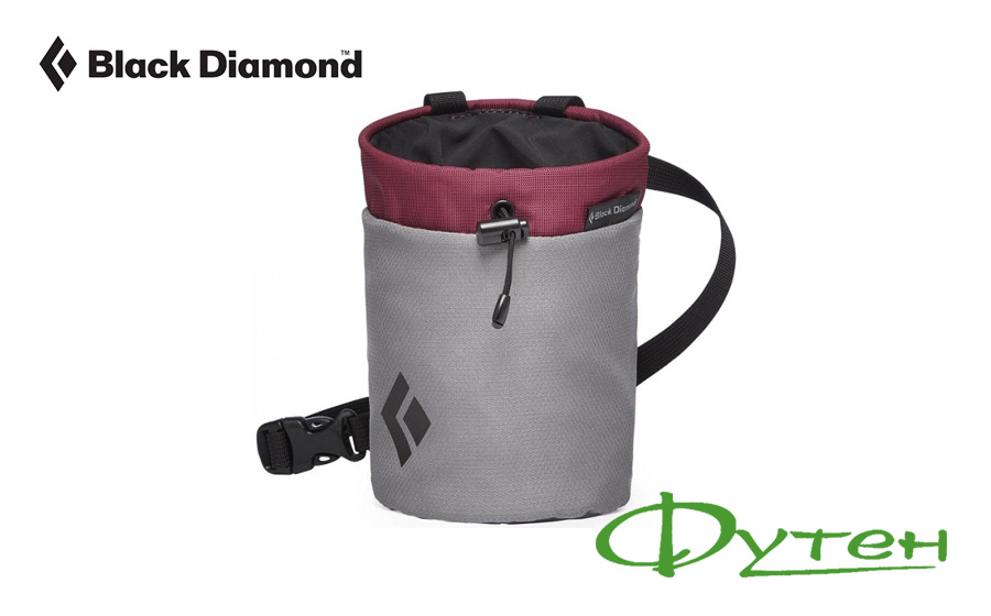 Мешок для магнезии Black Diamond Repo Chalk Bag light grey