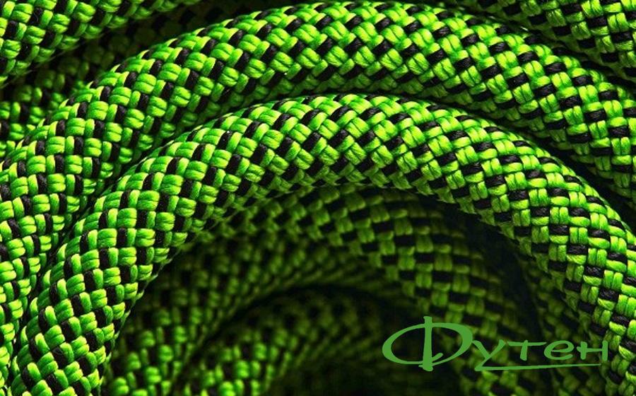 Верёвка динамическая Black Diamond 9,4 DRY 60 мenvy green