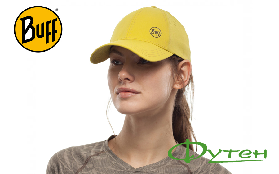 Кепка спортивная Buff TREK CAP rinmann citric