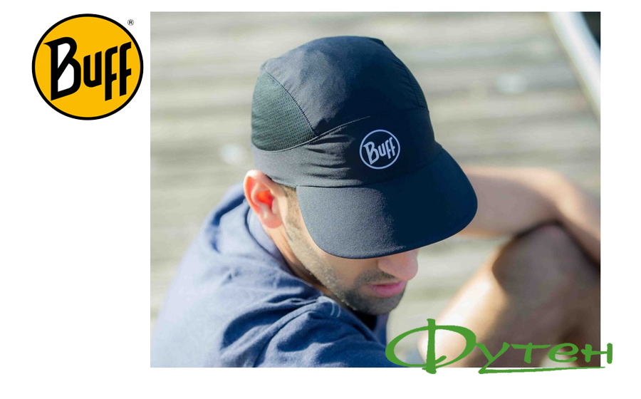 Buff PRO RUN CAP R-SOLID black
