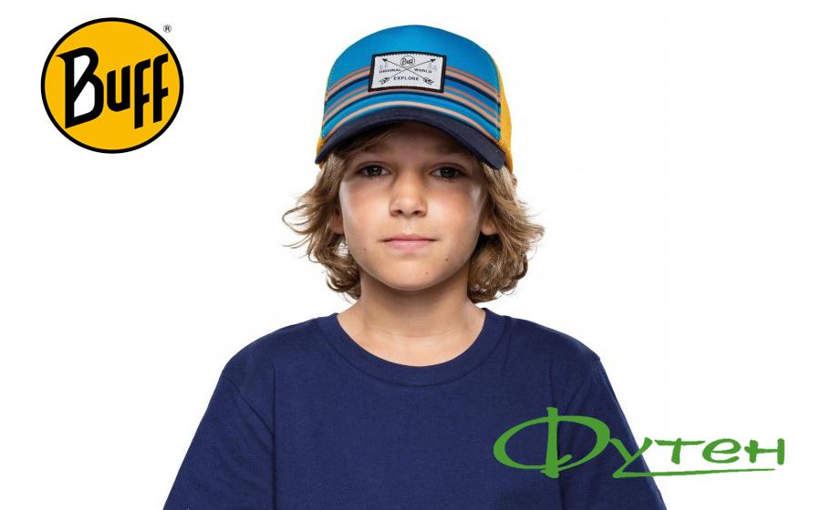 Buff KIDS TRUCKER CAP explore multi