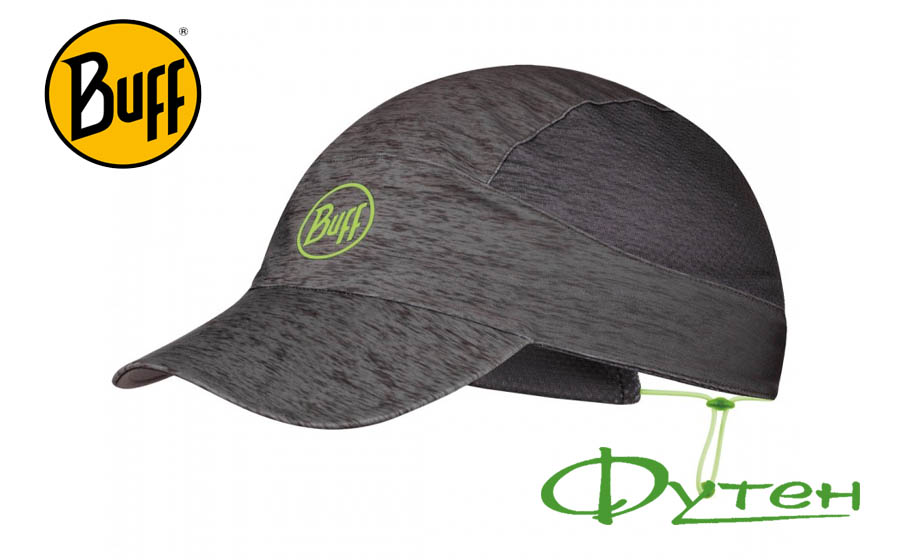 Кепка Buff PACK RUN CAP R-grey htr