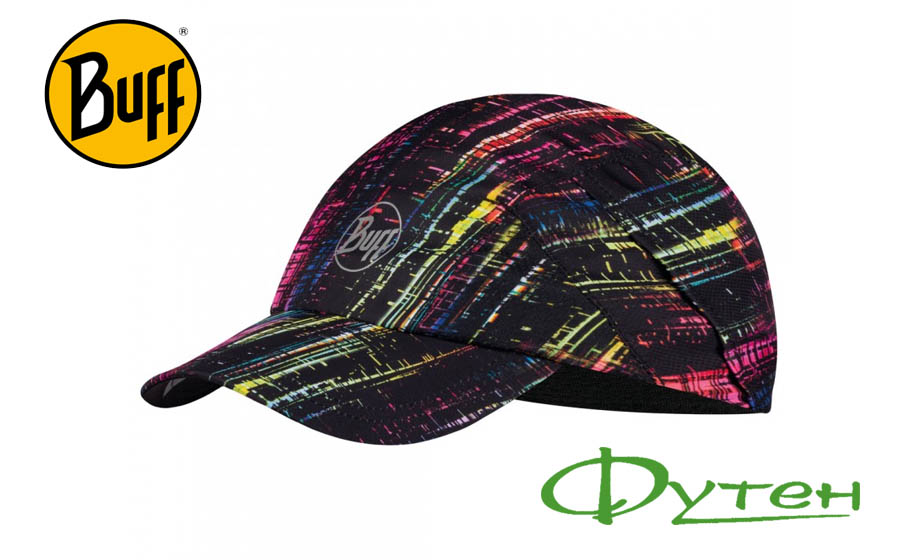 Кепка Buff PRO RUN CAP R-wira black