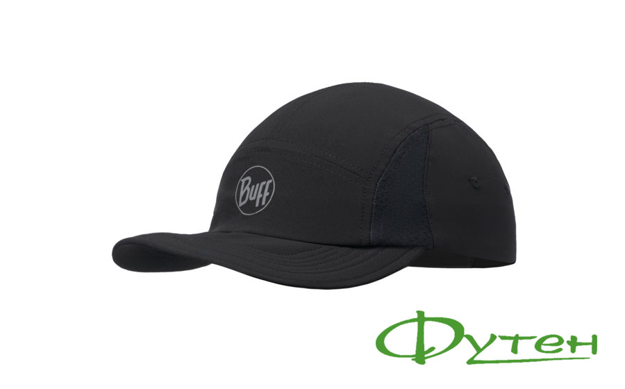 Buff RUN CAP SOLID r-black