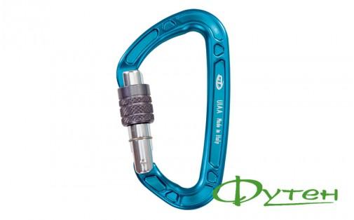 Climbing Technology AERIAL PRO SG screw gate light blue