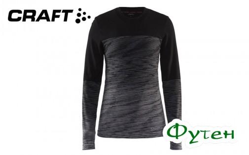 Термобелье женское блуза Craft WOOL COMFORT 2.0 CN LS W black/dk