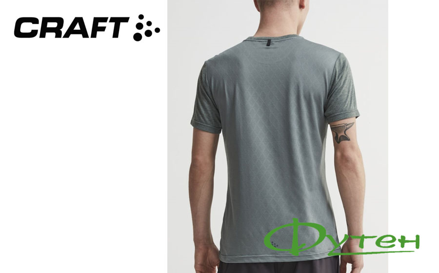 Craft CHARGE SS TEE M gravity melange