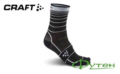 Носки Craft GRAN FONDO Sock black/white