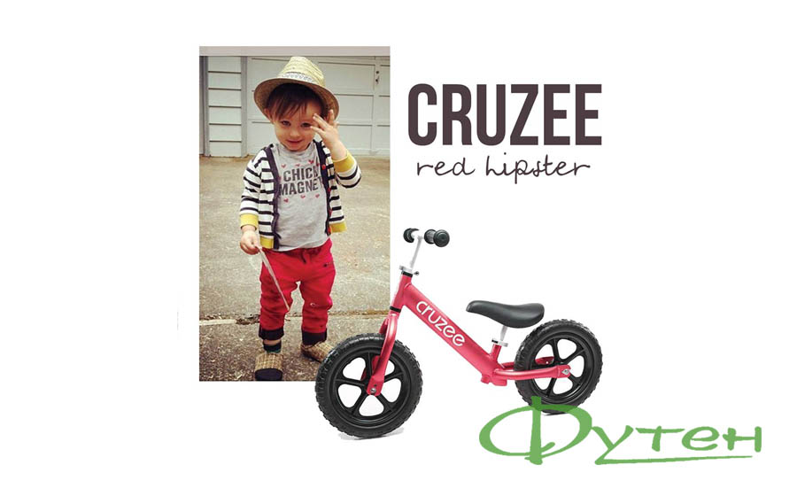Беговел CRUZEE ULTRALITE BALANCE BIKE red