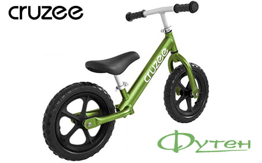 Беговел детский CRUZEE ULTRALITE BALANCE BIKE green