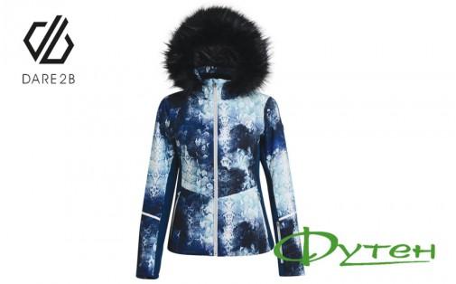 Куртка женскаяDare2b ICEGLAZE SKI JACKETblue wing