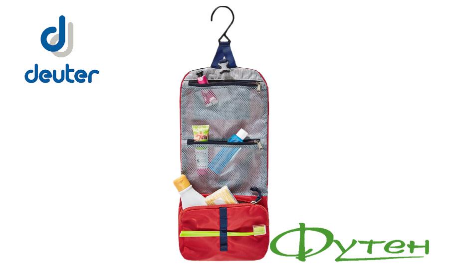 Сумка Deuter WASH BAG I chili-navy 5328