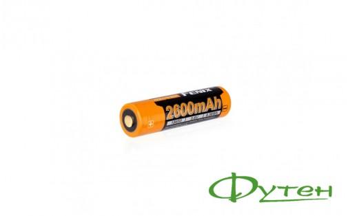 Аккумулятор 18650 Fenix 2600 mAh ARB-L18-2600