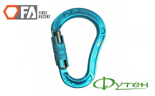 Карабин First Ascent ATTACK light blue
