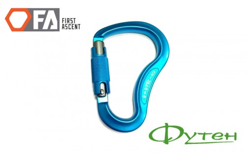 Карабин First Ascent HMS AUTOLOCK 23 kN light blue