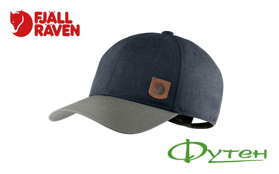 Кепка Fjallraven GREENLAND WOOL CAP dark navy