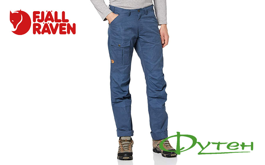 Штаны Fjallraven NILS TROUSERS Regular uncle blue