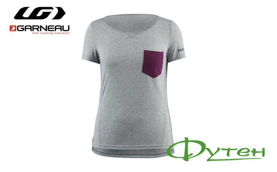 футболка женская Garneau Womens T-dirt HEATHER GRAY