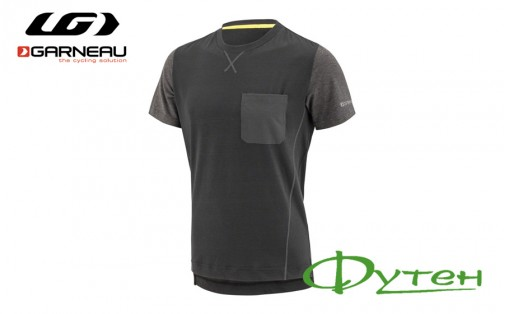 футболка Garneau T-DIRT BLACK/GRAY