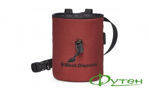 Мешочек для магнезии Black Diamond MOJO red oxide