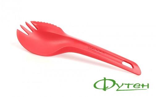 Ложка вилка нож Wildo SPORK pink