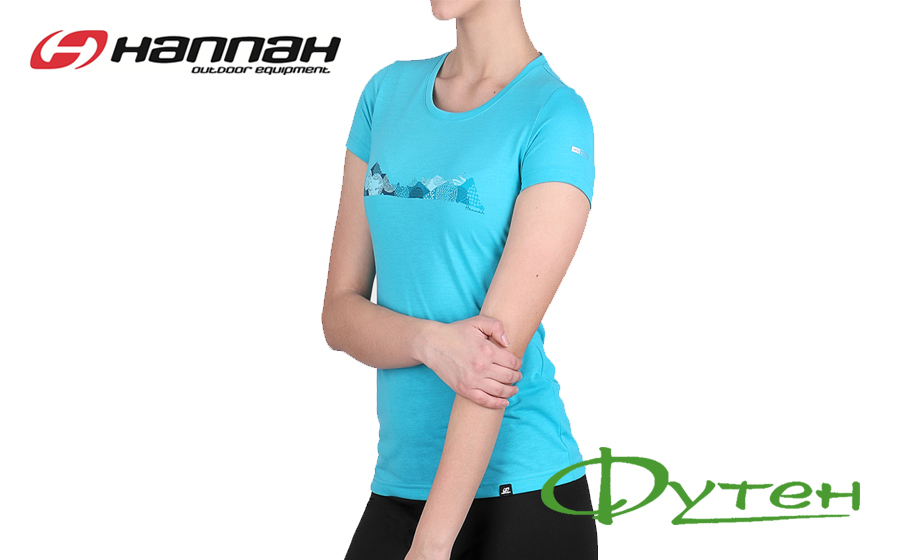 Летняя футболка HannahCOREYbluebird