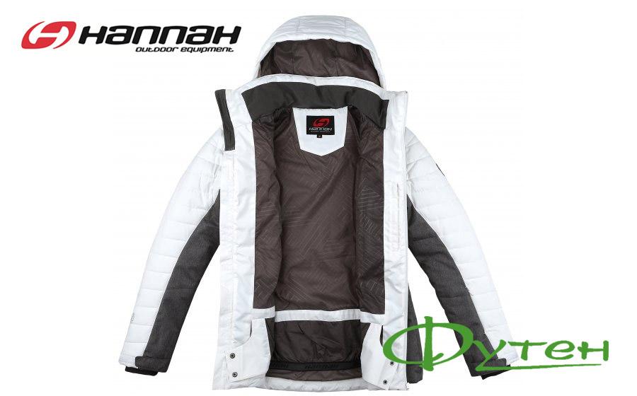 Куртка лыжная HannahBALAY bright white/gray mel
