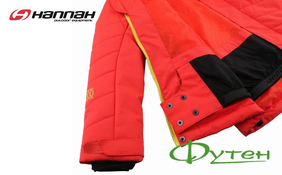 Детская лыжная куртка Hannah ROVENA hot coral