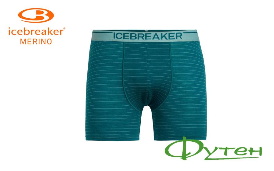 бельё мужское Icebreaker ANATOMICA BOXERS MEN poseidon/hydro/str