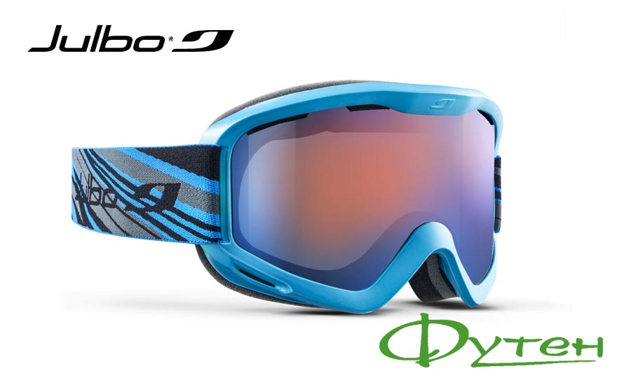 Маска лыжная Julbo MARS blue/grey/black/orange cat 3