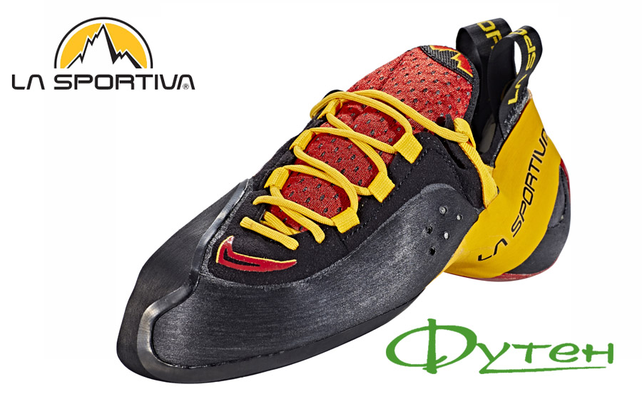 Скальные туфли La Sportiva GENIUS red/yellow