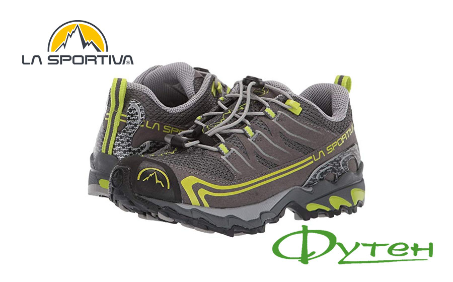 Кроссовки детские La Sportiva FALKON LOW carbon/apple green